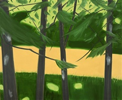 four trees by alex katz