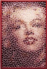 eye to eye: marilyn by david datuna