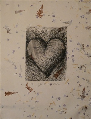 the jewish heart by jim dine