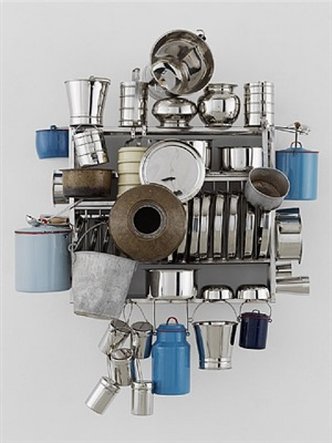 family nest no. 3 by subodh gupta