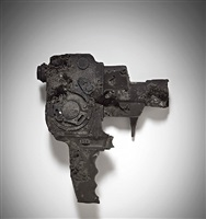 ash eroded bolex camera by daniel arsham