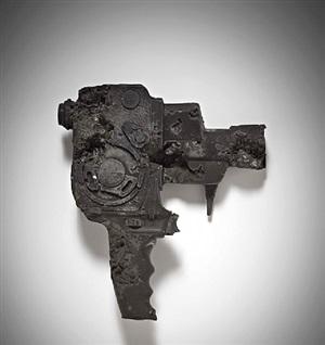 ash eroded bolex camera by daniel arsham