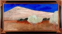paysage de andalousie environs de jodar by bernard cathelin