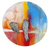 no. 15 (frost disc) by rand heidinger