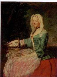 portrait de marguerite saintard by jean baptiste siméon chardin