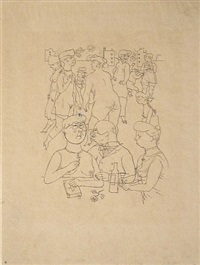 werbung (advertisement) by george grosz