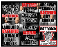 battered by gilbert and george