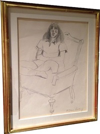 drawing i by milton avery
