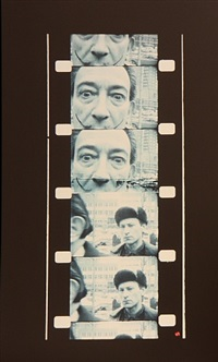 salvador dali, myself, fooling around, new york by jonas mekas