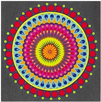 double barrel purple micro dot, iii by dzine