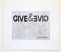 give & take series by william kentridge