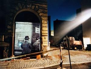 joachiimstrasse 11a, berlin, 1993 by shimon attie