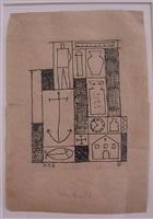 constructivo con ancora by joaquín torres garcía