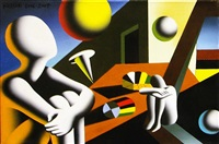 navigating the infinite by mark kostabi