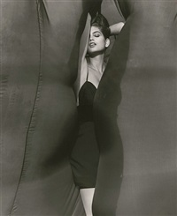 cindy crawford - versace, el mirage by herb ritts