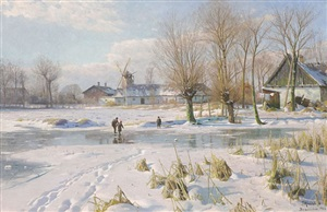 winterzauber by peder mork monsted