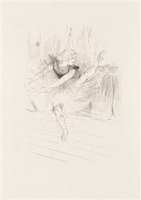 miss ida heath, danseuse anglaise (miss ida heath, english dancer) by henri de toulouse-lautrec
