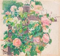 roses grimpantes by théo van rysselberghe