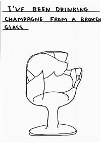 untitled (broken glass) by david shrigley