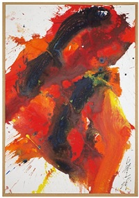 akazome by kazuo shiraga