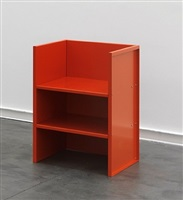 armchair #47 by donald judd