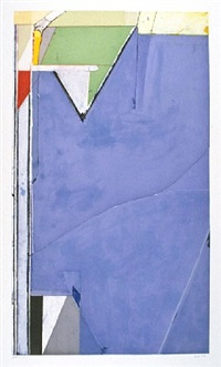 high green, version ii by richard diebenkorn