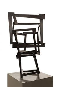 """escultura """"chaos fisura"""" by jedd novatt"""