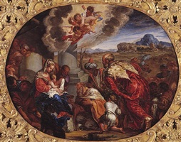 the adoration of the magi by giacomo cotta