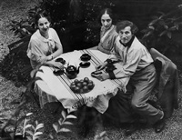 chagall family picnic by andré kertész