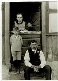bauernfamilie aus der hocheifel by august sander