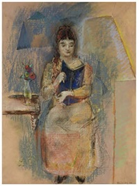 woman reading by max weber