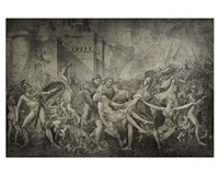 intervention of the sabine women by wolfe von lenkiewicz