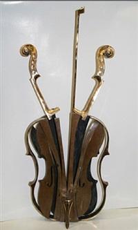 violon venise by arman
