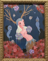 the blooming of venison by gary baseman