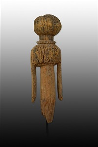 african art, moba clan figure by unknown