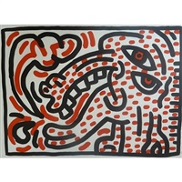 ludo iv by keith haring