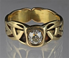 an important liberty & co ring by archibald knox