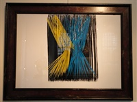 composition 'p 1973 a5' by hans hartung