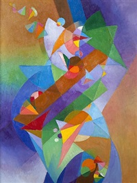 beethoven series-sonata form by stanton macdonald-wright