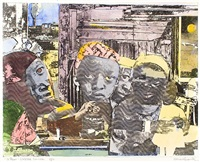 12 trains-seaboard limited by romare bearden