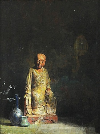 chinese figure still life by hovsep pushman