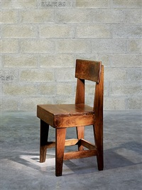 chaise by pierre jeanneret