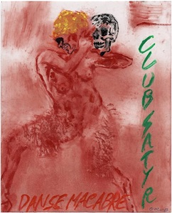 leon golub danse macabre by leon golub