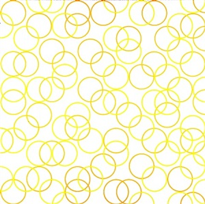 two yellows, composition with circles ii by bridget riley