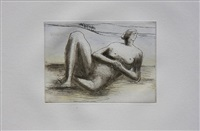 the reclining figure (plate 8) by henry moore