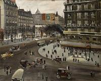 avenue, paris by lucien adrion