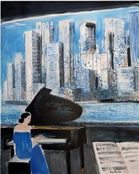 piano à new york by andré brasilier