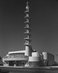 academy theatre, inglewood by julius shulman