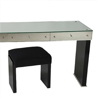bureau-coiffeuse moderniste by jacques adnet