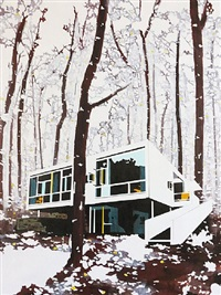 built in forest by paul davies